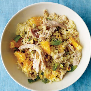 Chicken with Couscous and Orange.