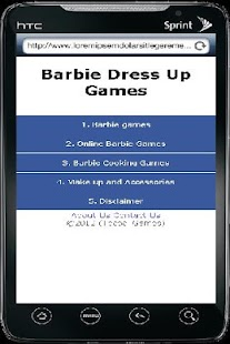 Barbie Dress Up Games - screenshot thumbnail
