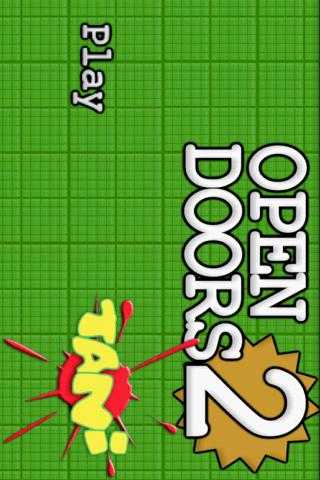 Open Doors Game - screenshot