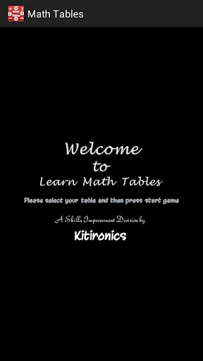 Math and Tables with Puzzle