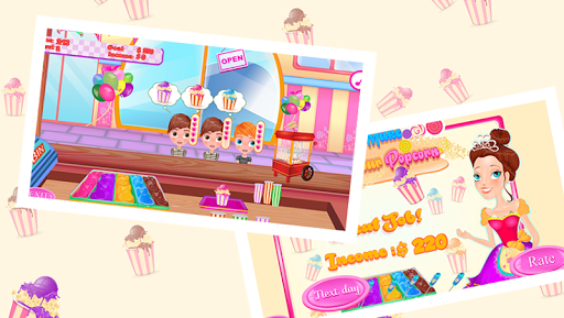 popcorn maker - game for girls