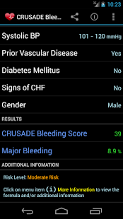CRUSADE Bleeding Score - screenshot thumbnail