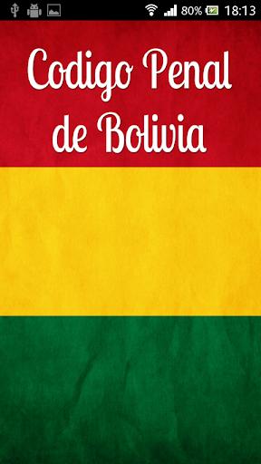 Código Penal Bolivia