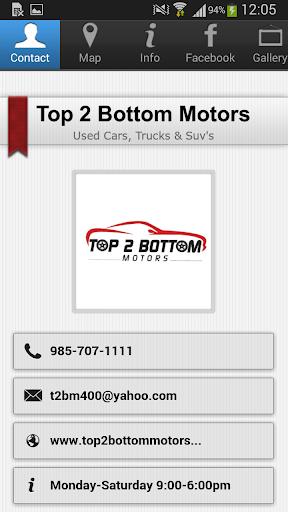 Top 2 Bottom Motors