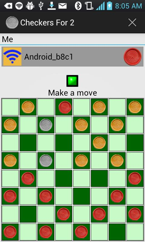 Checkers For 2- screenshot