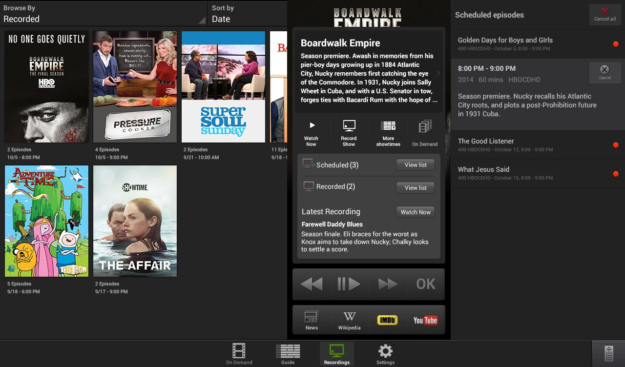 Optik™ Smart Remote- screenshot