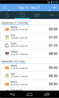 Screenshot of aTimeLogger - Time Tracker