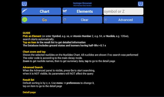 Isotope Browser - screenshot thumbnail