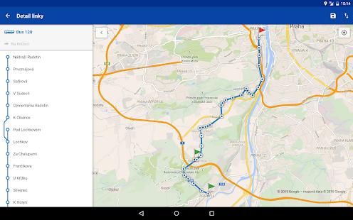 Offline Jízdní řády CG Transit Screenshot 15