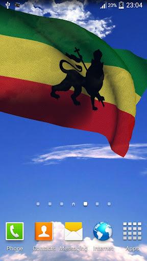 Rasta Flag Live Wallpaper +