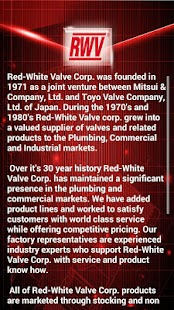 Red-White Valve Corp. (RWV)- screenshot thumbnail