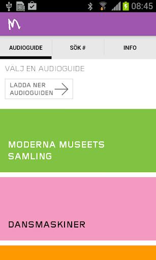 Moderna Museet audioguide