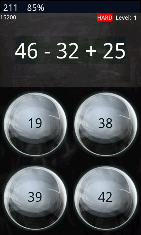 Math Workout - Game (free) - screenshot