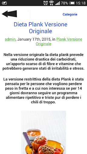 La dieta plank