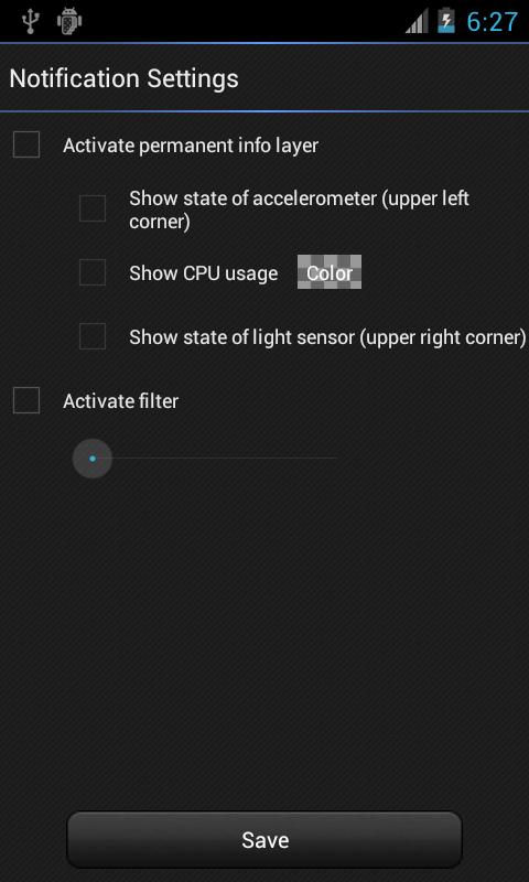 IntelliScreen - screen control- screenshot