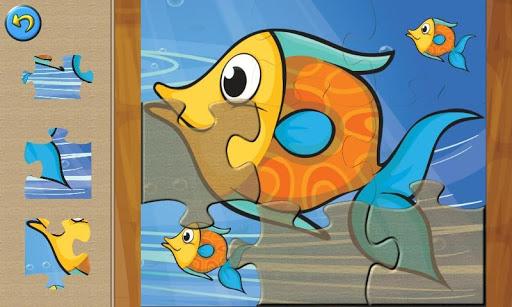 Ocean animals puzzles for kids
