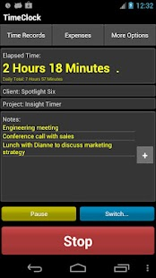 TimeClock Free - Time Tracker - screenshot thumbnail
