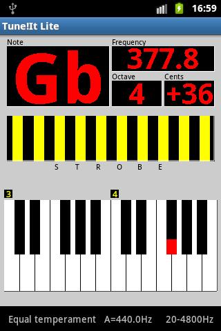 Tune!It Lite - screenshot