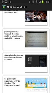 Noticias Android - screenshot thumbnail