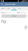 Screenshot of JNE Ongkos Kirim