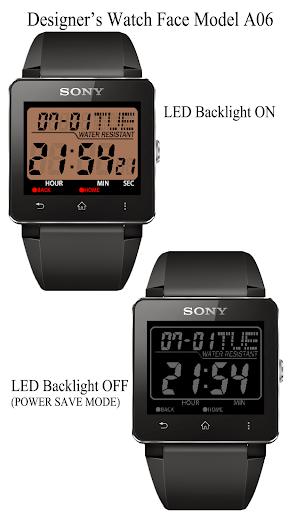 A06 WatchFace for SmartWatch2