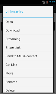 Mega Mobile Streaming - screenshot thumbnail