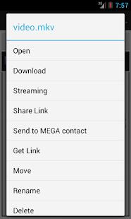 Mega Mobile Streaming - screenshot thumbnail
