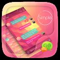 (FREE) GO SMS SIMPLE THEME icon