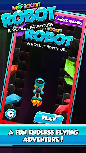 Gem Rocket Robot