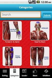A-Z: Muscle Trigger Points - screenshot thumbnail