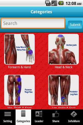A-Z: Muscle Trigger Points - screenshot