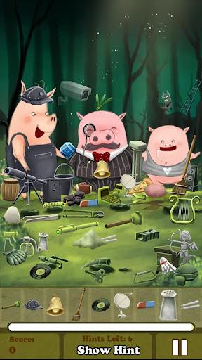 Hidden Object - 3 Little Pigs