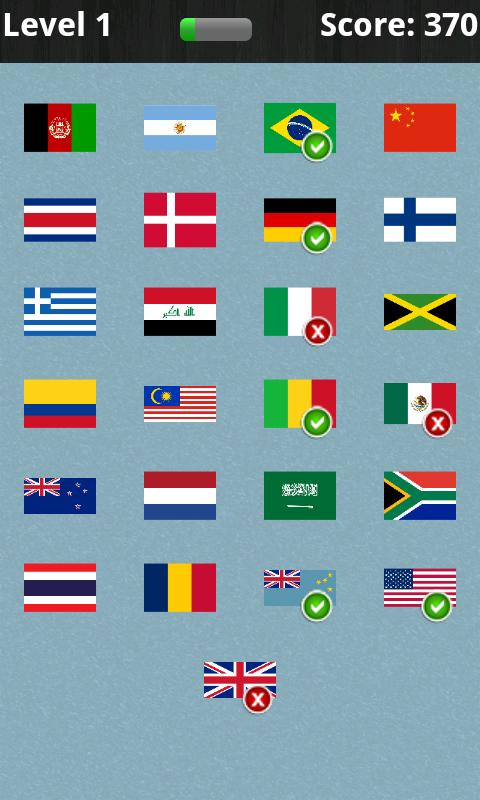 Logo Quiz - National Flags - screenshot