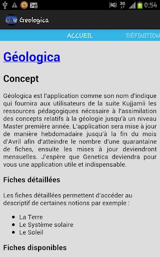 Géologica