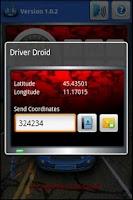 Screenshot of Driver Droid