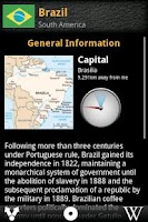 Screenshot of FactBook