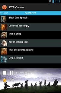 LOTR Quotes - screenshot thumbnail