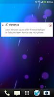 Screenshot of My InfoZone™ Widget