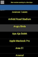 Screenshot of Statuses Via