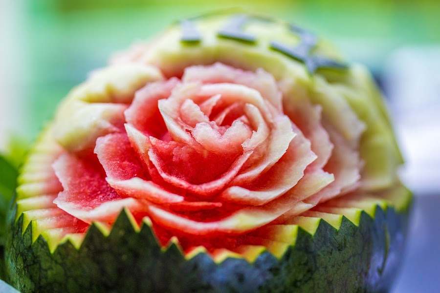 Water Rose by Callum Harris - Food & Drink Fruits & Vegetables ( rose, red, food, watermelon, health, vitamin c, pretty, flower,  )