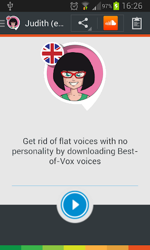 Judith TTS voice English
