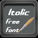 Italic Fonts Free icon