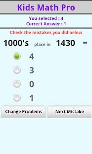 Kids Math Pro- screenshot thumbnail
