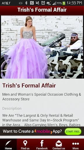 Formal Affair by Trish