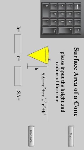 Geometric Formula Calculator 1.1.0 screenshots 2