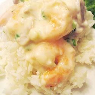 Shrimp in Sherry Cream Sauce