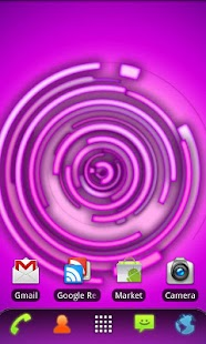 RLW Theme Purple Neon- screenshot thumbnail