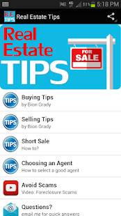 Real Estate Tips - screenshot thumbnail
