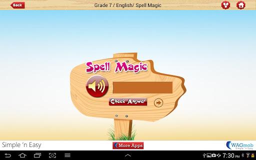 【免費書籍App】Grade 7 English by WAGmob-APP點子