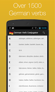 German Verb Conjugator